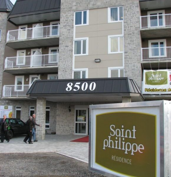 Résidence ST-PHILIPPE- Résidence personne âgées Québec