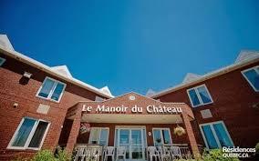 Manoir du Château-Résidence personnes âgées Québec