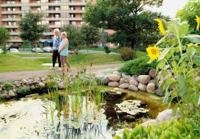 Jardins Logidor- Résidence personnes âgées Québec